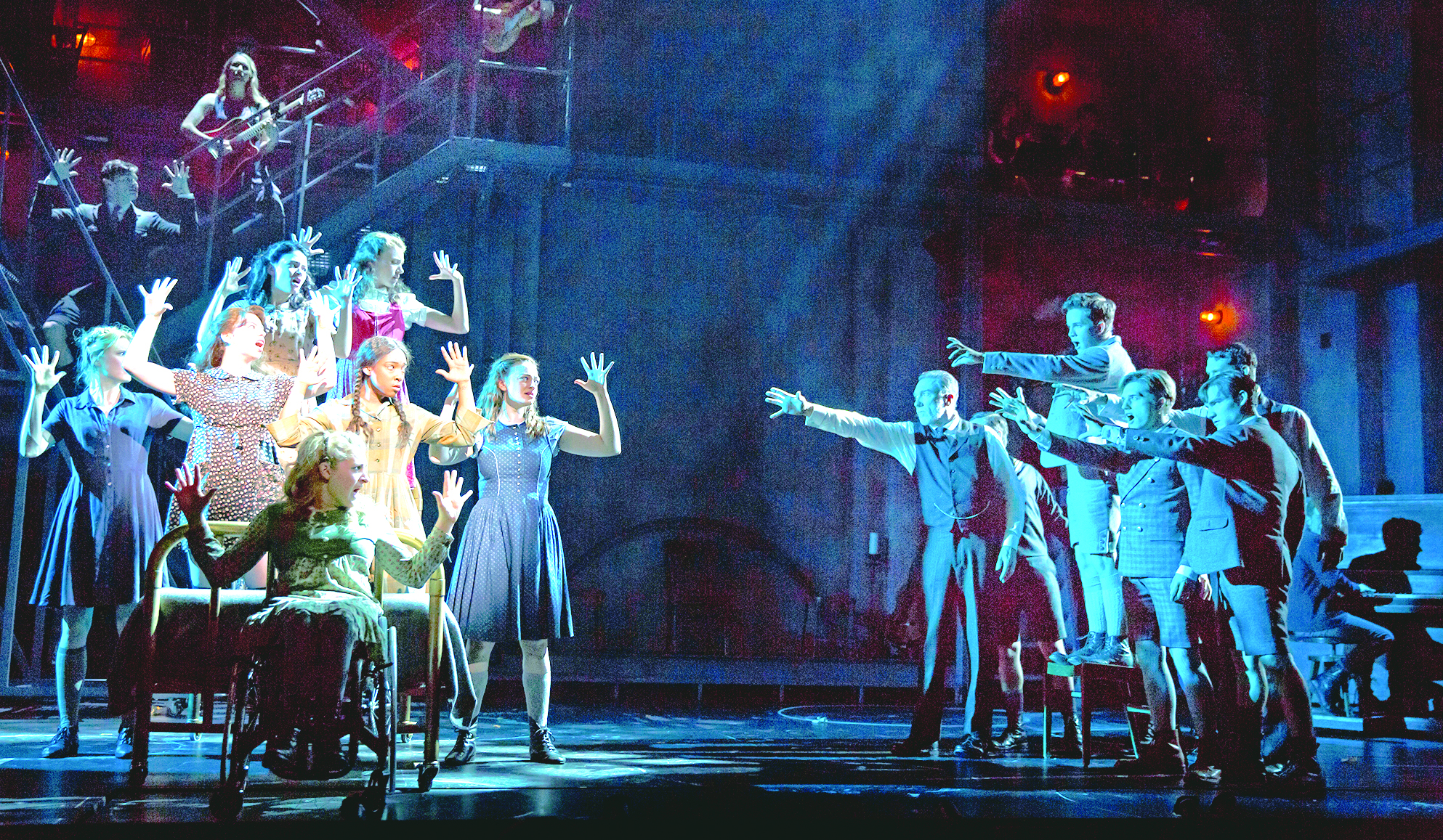 "The cast of ""Spring Awakening"" PHOTO 