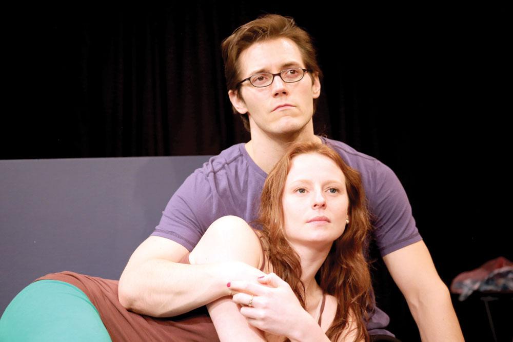 Geoff Knox and Rachel Lee Kolis. PHOTO   Brian Armour