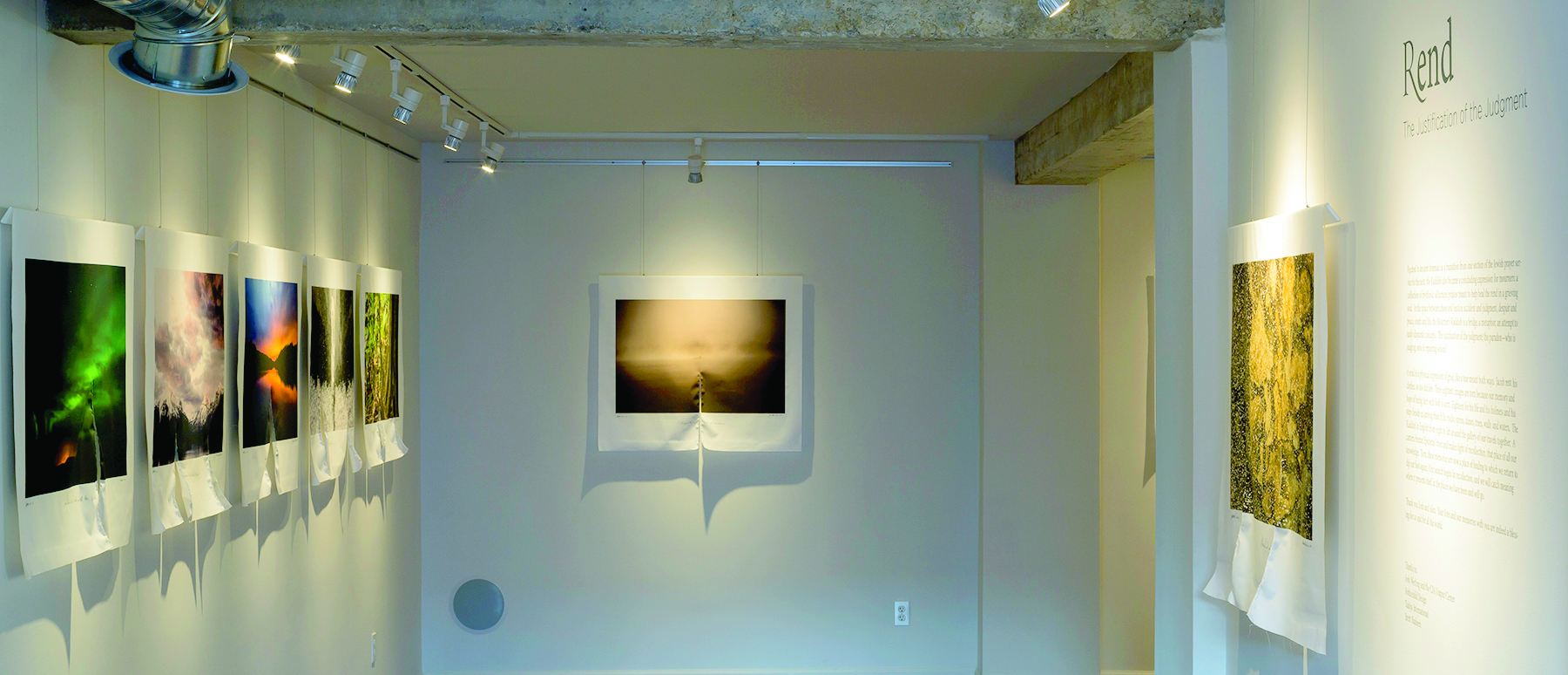 "Entering ""Rend"" at Michael Weil's Foothill Galleries. PHOTO 