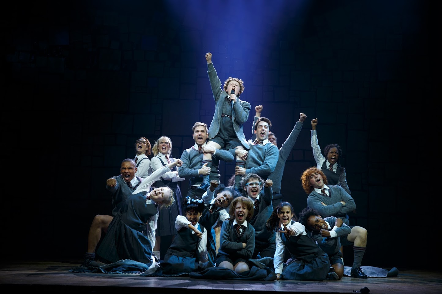 """The ensemble from """"Matilda The Musical."""" PHOTO 