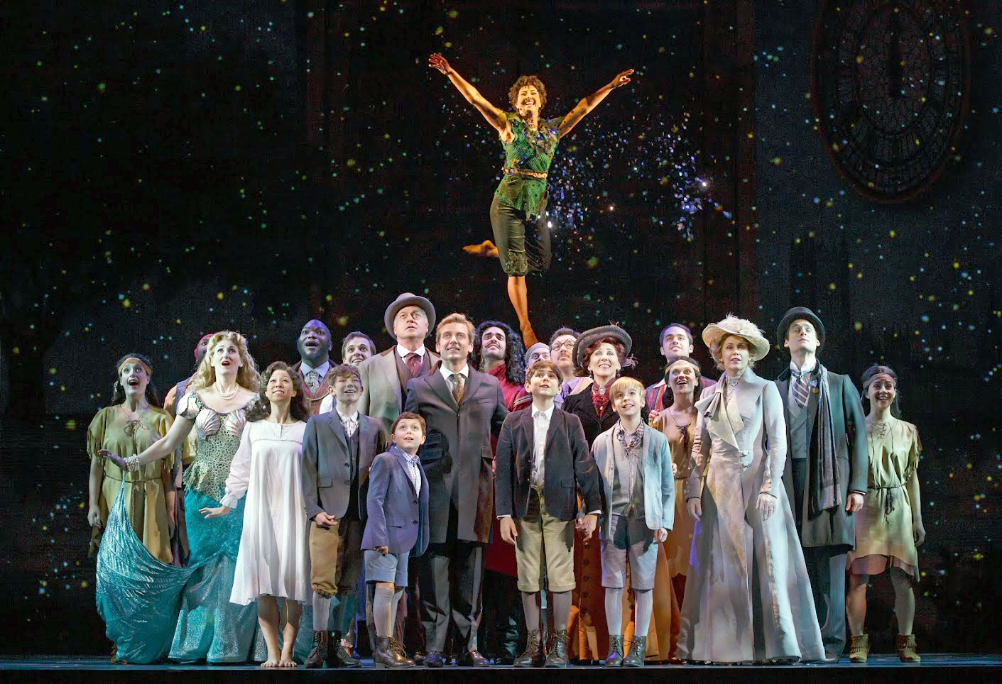 "The ensemble of ""Finding Neverland"" 
