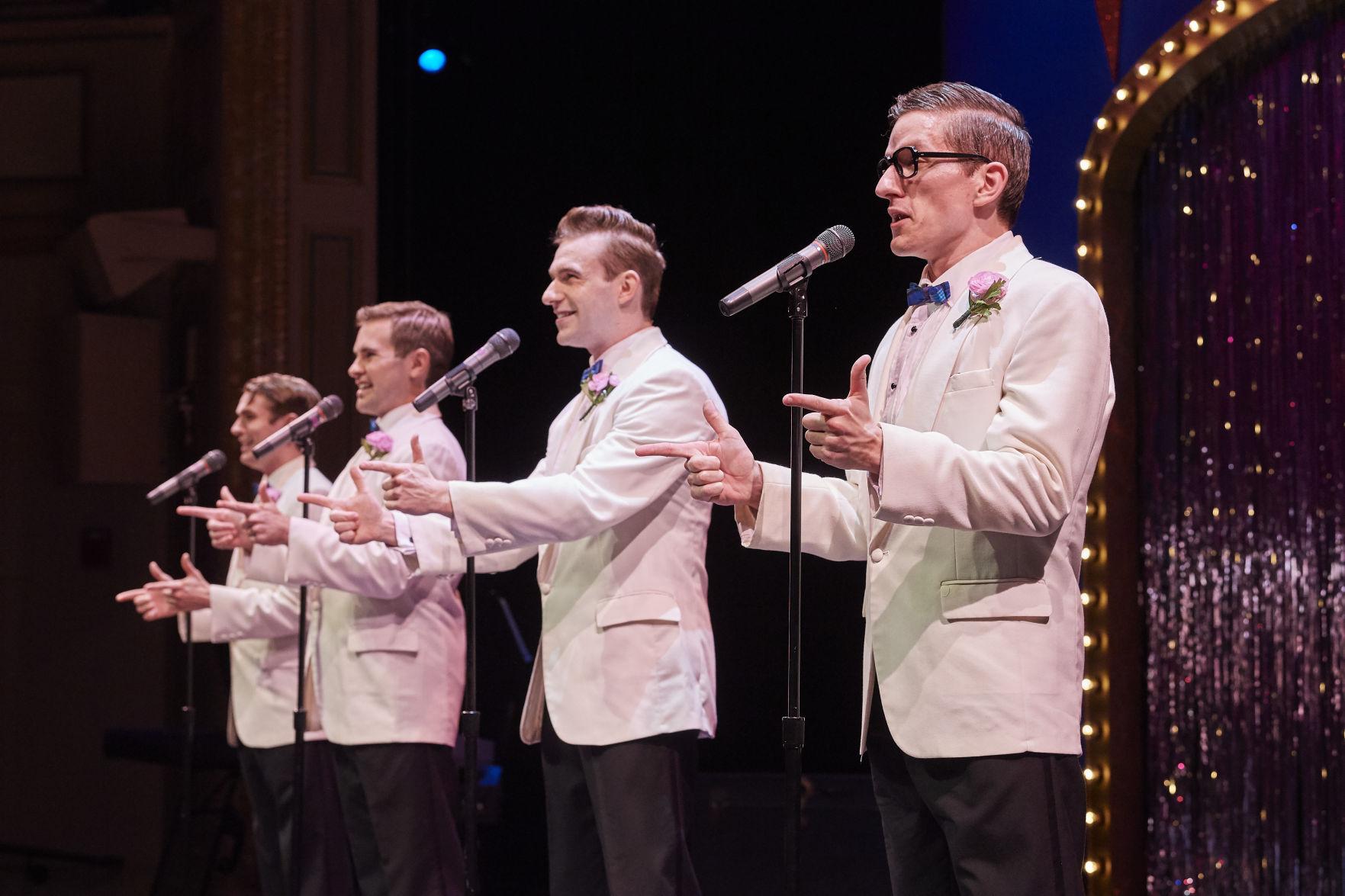 From left, Mickey Patrick Ryan, Andrew Kotzen, Mack Shirilla and James Penca. Photo | Roger Mastroianni