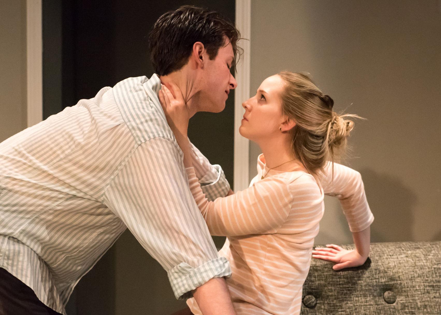 Daniel Scott Telford and Molly Israel. Photo | Andy Dudik