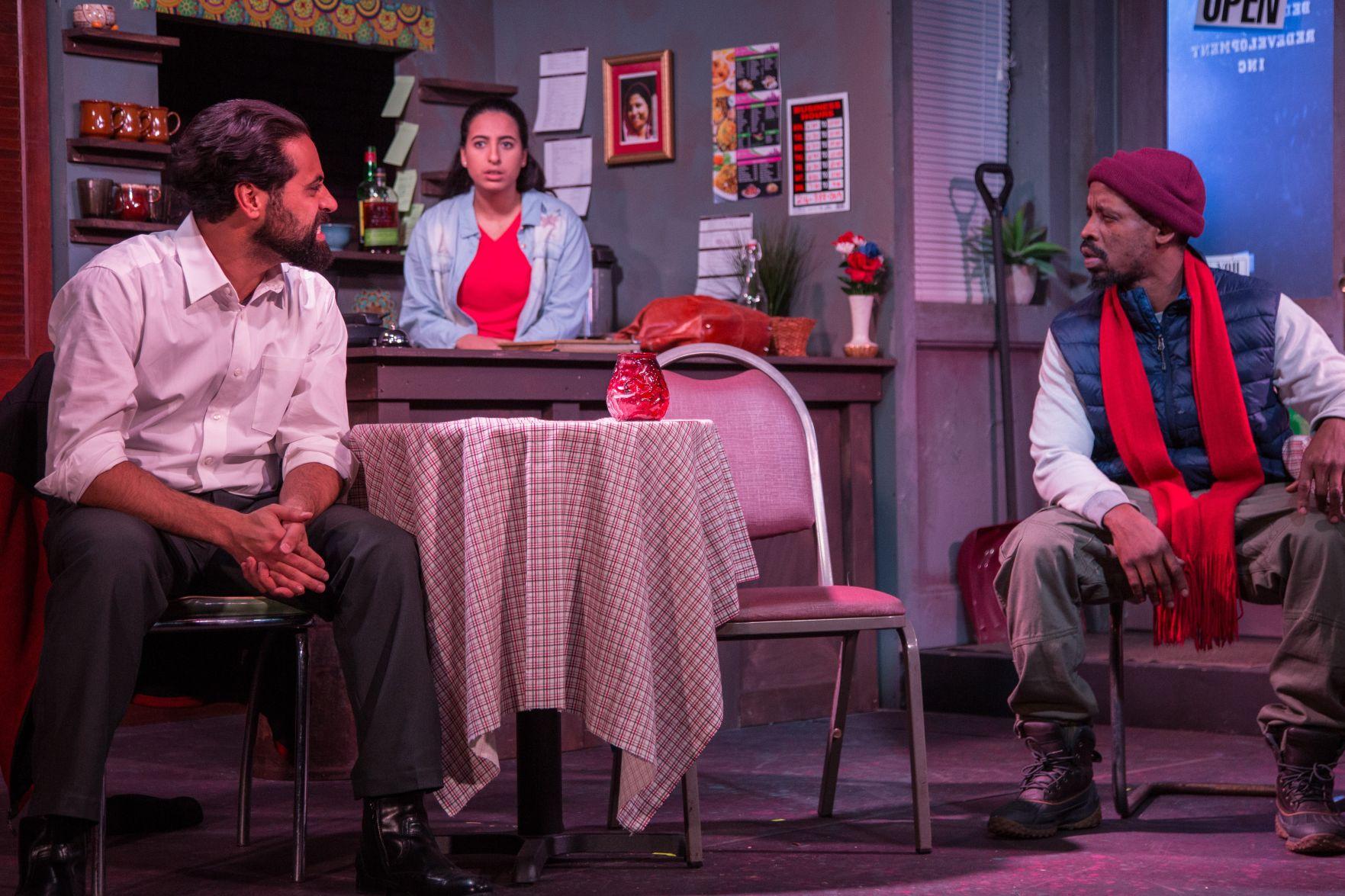 Ammen T. Suleiman (from left), Natalie El Dabh and LaShawn Little. Photo / Michelle Berki