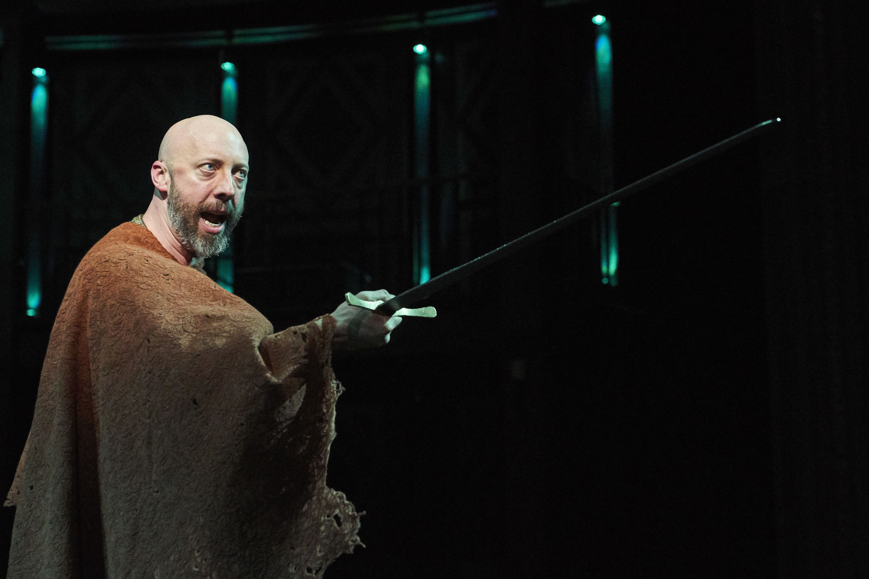 Lynn Robert Berg as Macbeth. Photo / Roger Mastroianni